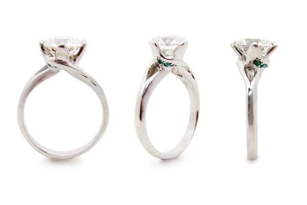 Leaf-Ring-trio