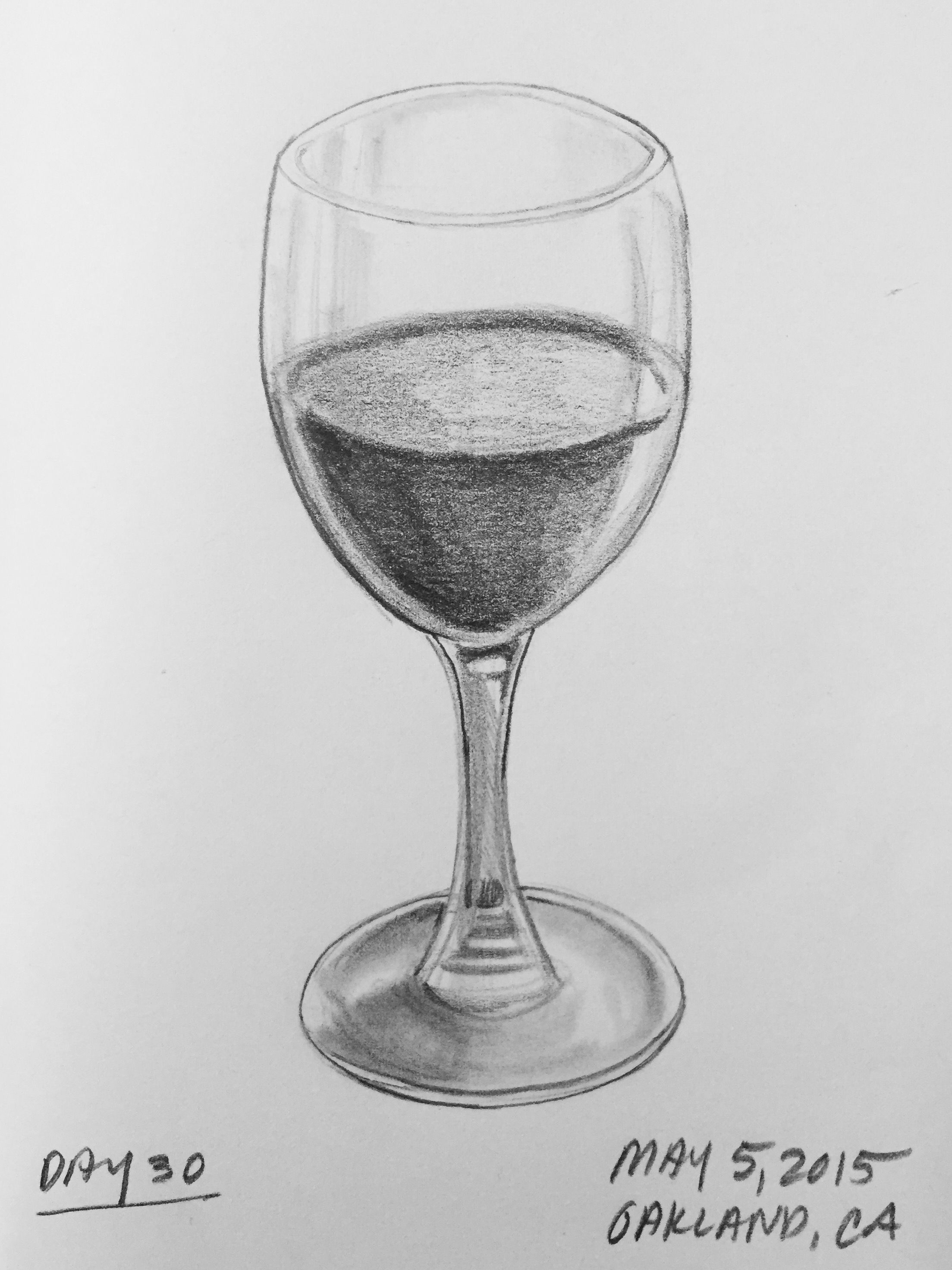 Wine glass drawing the image kid has it for How to draw on wine glasses